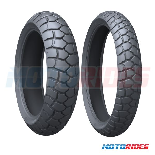 Combo de pneus Michelin Anakee Adventure 120/70-19 + 170/60-17