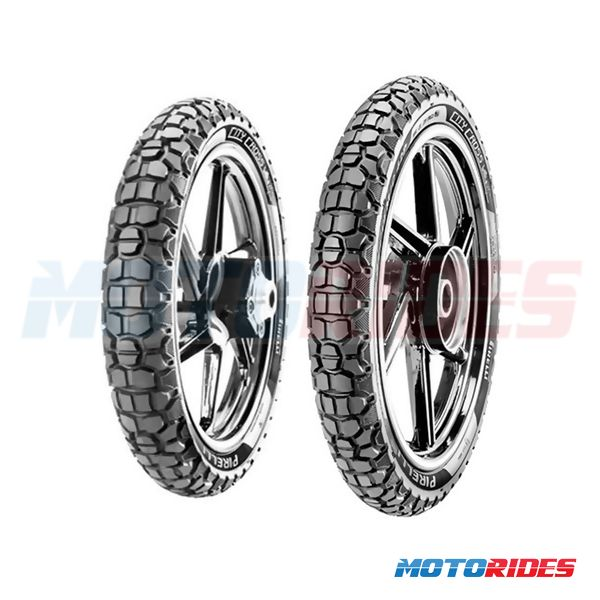Combo de pneus Pirelli City Cross 90/90-19 + 110/90-17