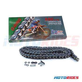 Corrente CZ Chains O-Ring - Passo 520 - 118 Elos