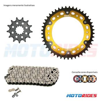 Kit relação SuperSprox + CZ Chains X'Ring - Daytona 675 / Street Triple 675