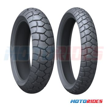 Combo de pneus Michelin Anakee Adventure 110/80-19 + 140/80-17